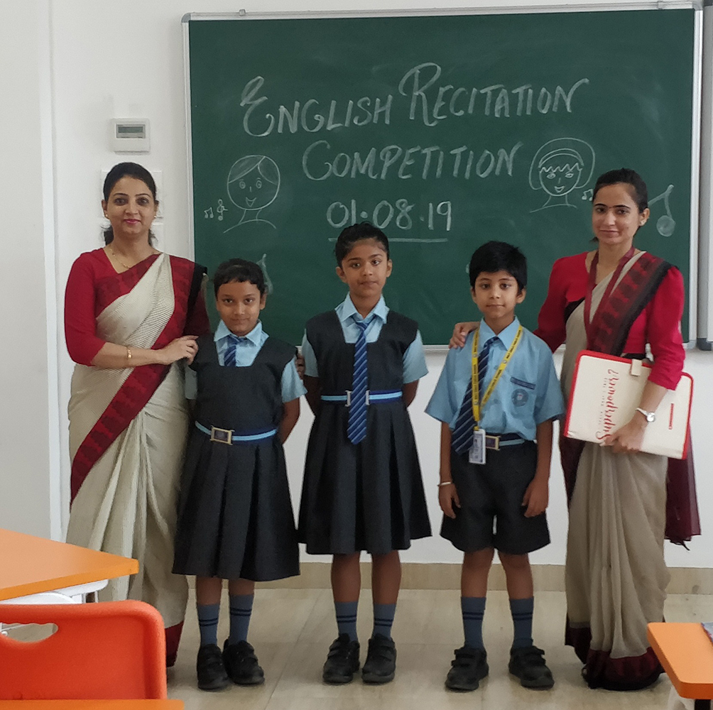 English recitation competion class 2